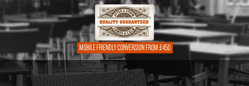 mobile friendly conversion from £450